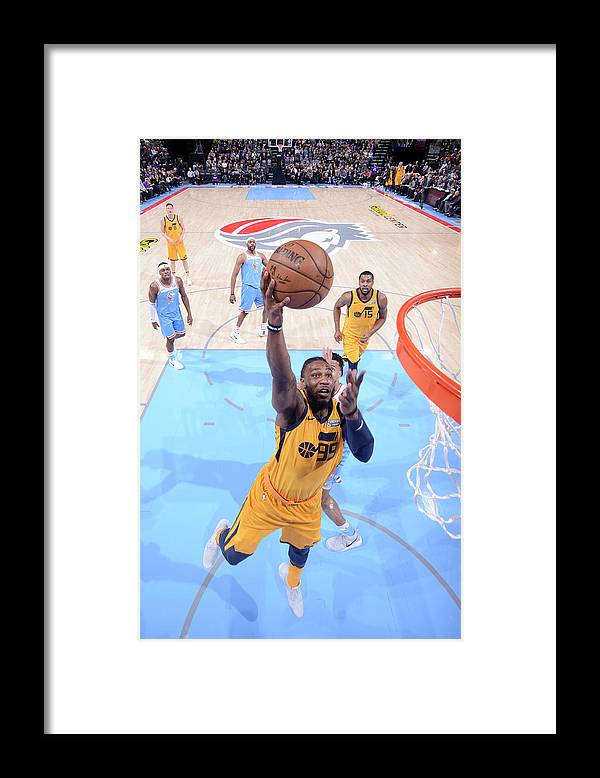 Nba Pro Basketball Framed Print featuring the photograph Jae Crowder by Rocky Widner