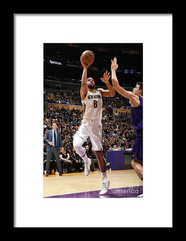 Nba Pro Basketball Framed Print featuring the photograph Jahlil Okafor by Andrew D. Bernstein