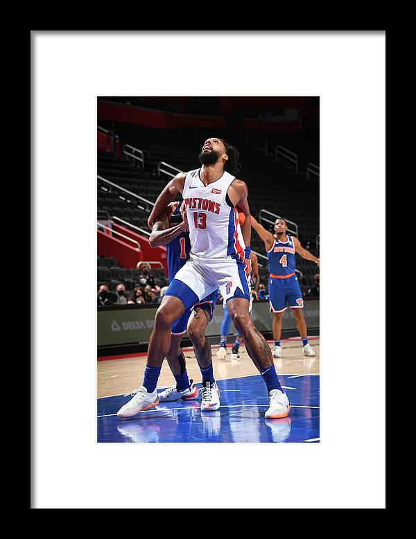 Nba Pro Basketball Framed Print featuring the photograph Jahlil Okafor by Chris Schwegler
