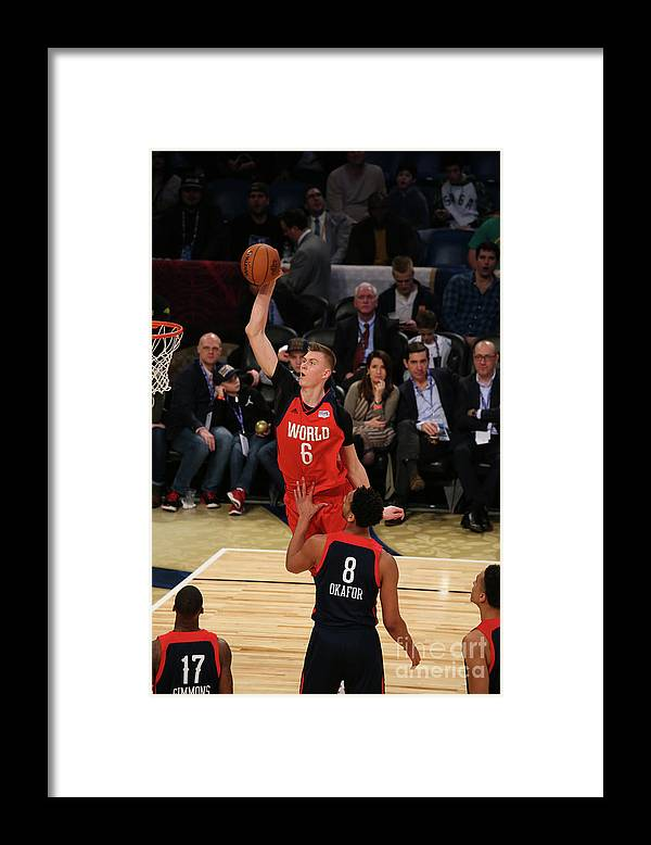 Smoothie King Center Framed Print featuring the photograph Jahlil Okafor by Gary Dineen