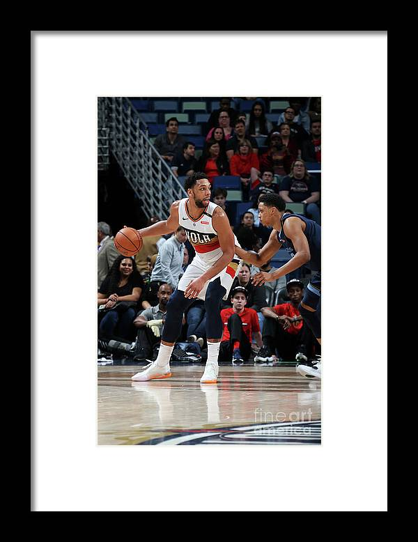 Smoothie King Center Framed Print featuring the photograph Jahlil Okafor by Layne Murdoch Jr.