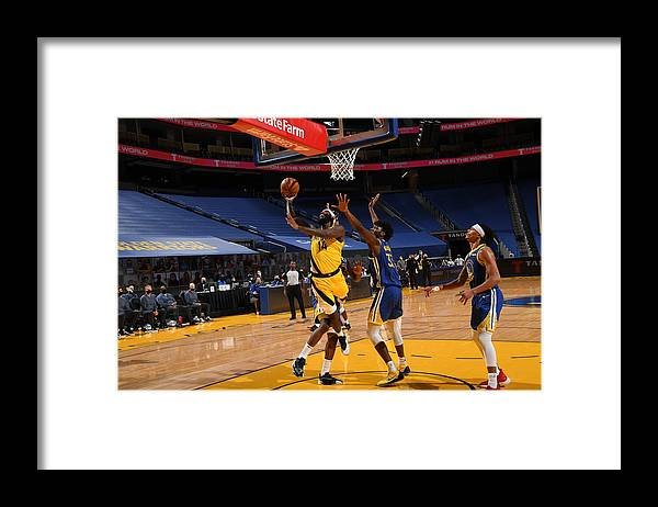 San Francisco Framed Print featuring the photograph Jakarr Sampson by Noah Graham