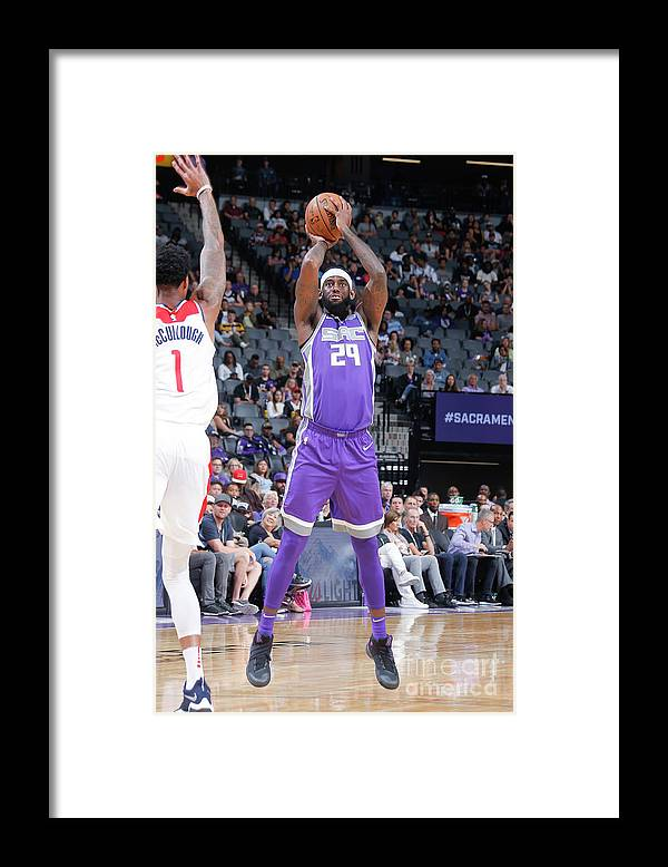 Nba Pro Basketball Framed Print featuring the photograph Jakarr Sampson by Rocky Widner