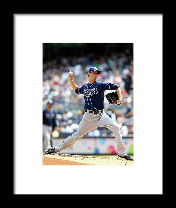 American League Baseball Framed Print featuring the photograph Jake Odorizzi by Elsa