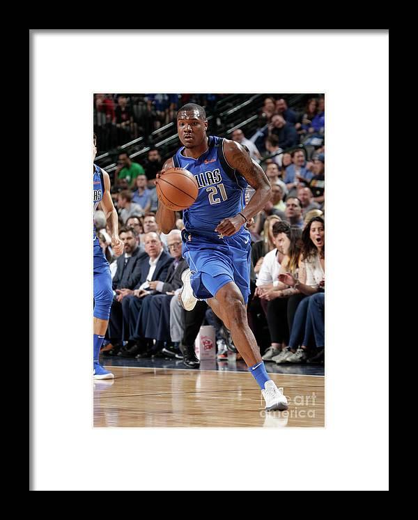 Sports Ball Framed Print featuring the photograph Jalen Jones by Glenn James