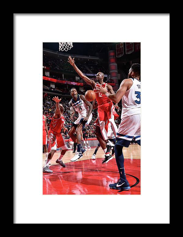 Nba Pro Basketball Framed Print featuring the photograph Jamal Crawford by Bill Baptist