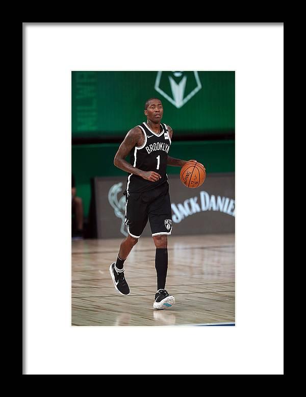 Nba Pro Basketball Framed Print featuring the photograph Jamal Crawford by Joe Murphy