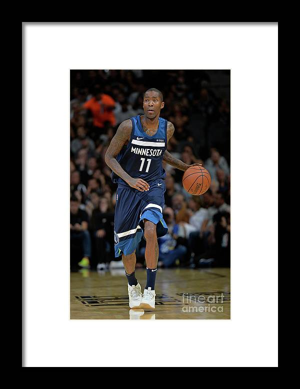 Nba Pro Basketball Framed Print featuring the photograph Jamal Crawford by Mark Sobhani