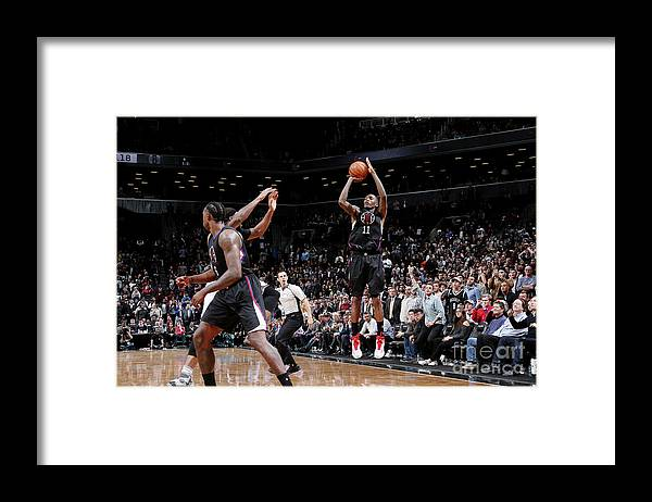 Nba Pro Basketball Framed Print featuring the photograph Jamal Crawford by Nathaniel S. Butler