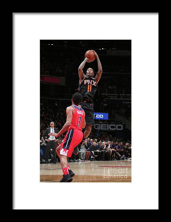 Nba Pro Basketball Framed Print featuring the photograph Jamal Crawford by Ned Dishman