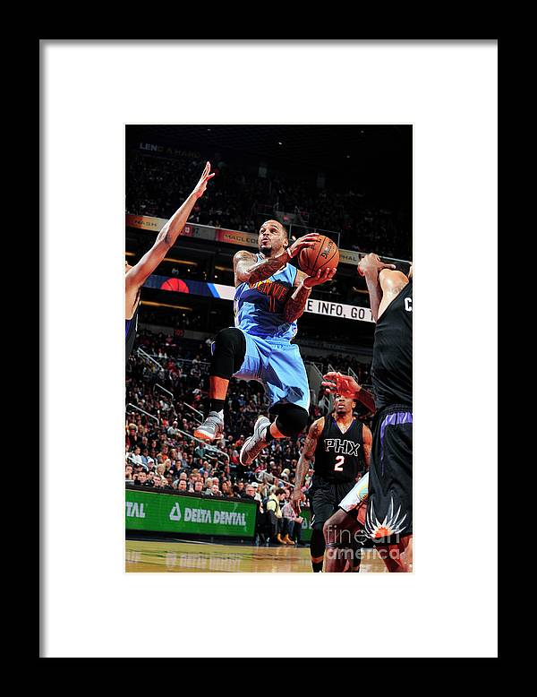 Nba Pro Basketball Framed Print featuring the photograph Jameer Nelson by Barry Gossage