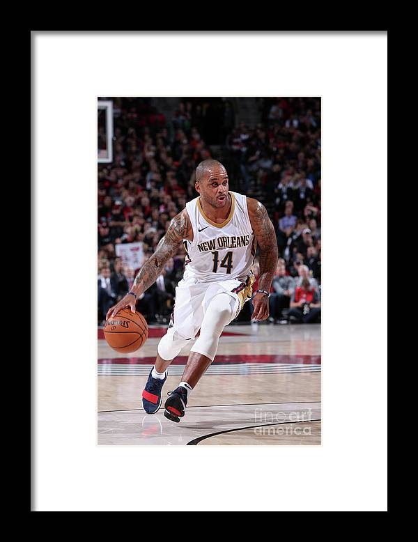 Nba Pro Basketball Framed Print featuring the photograph Jameer Nelson by Sam Forencich