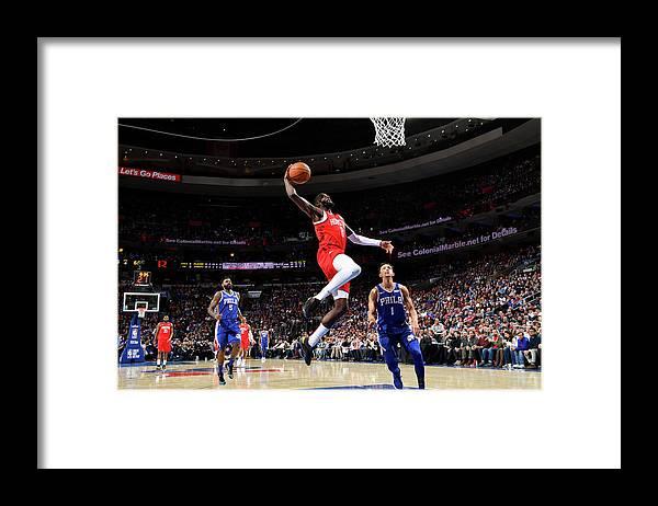 Nba Pro Basketball Framed Print featuring the photograph James Ennis by Jesse D. Garrabrant