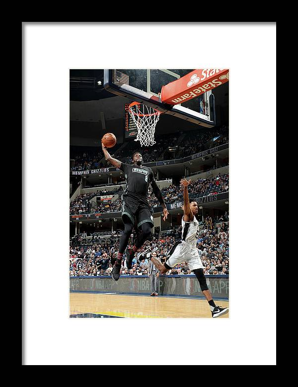 Nba Pro Basketball Framed Print featuring the photograph James Ennis by Joe Murphy