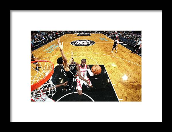 Nba Pro Basketball Framed Print featuring the photograph James Ennis by Nathaniel S. Butler