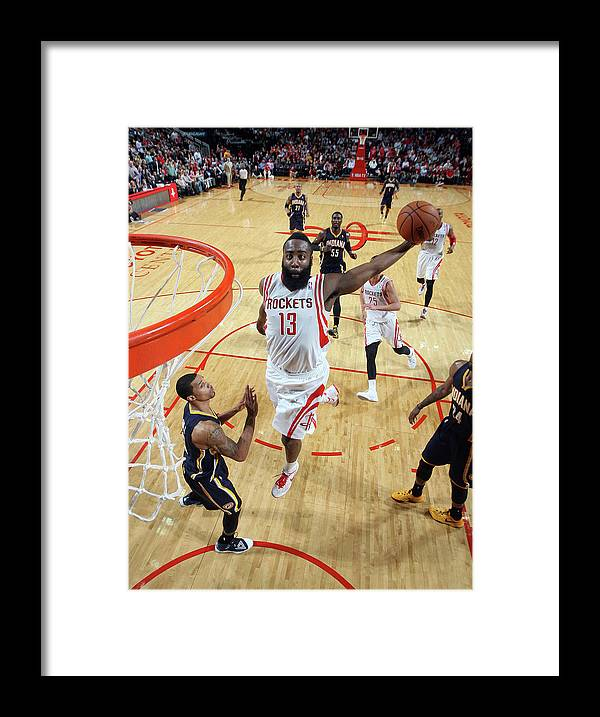 Nba Pro Basketball Framed Print featuring the photograph James Harden by Layne Murdoch