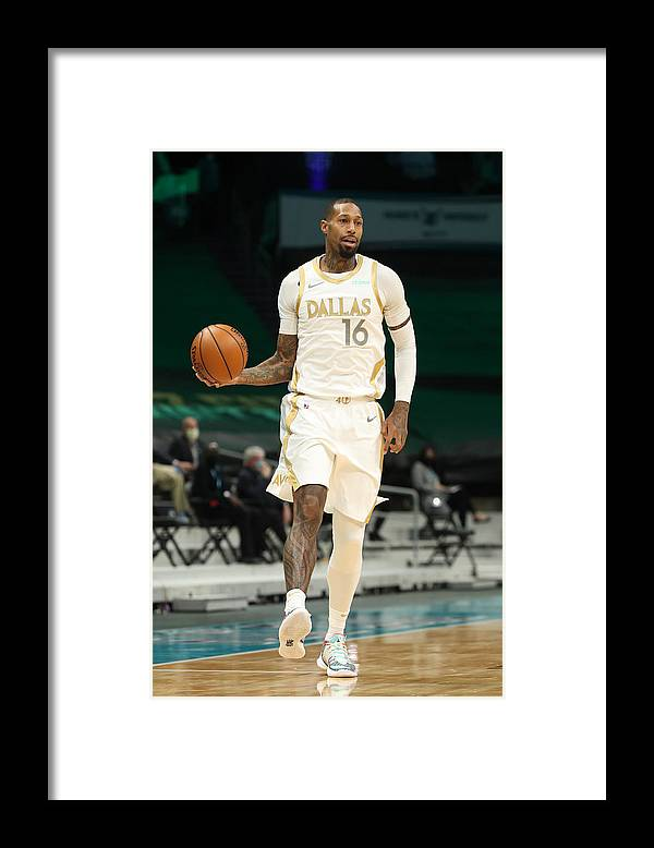 Nba Pro Basketball Framed Print featuring the photograph James Johnson by Brock Williams-Smith