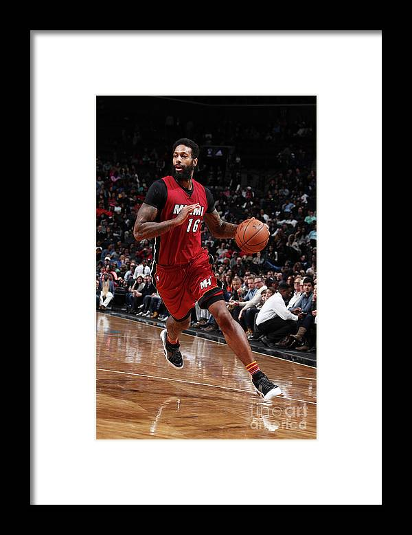 Nba Pro Basketball Framed Print featuring the photograph James Johnson by Nathaniel S. Butler