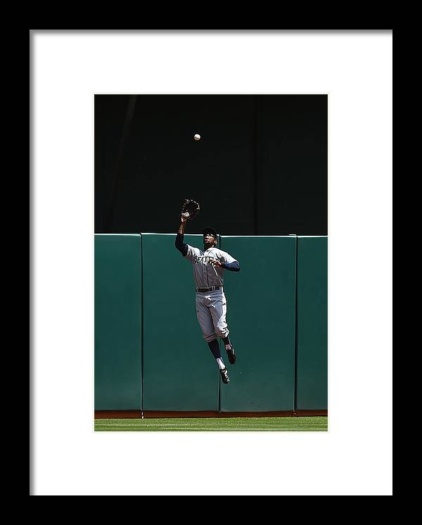 People Framed Print featuring the photograph James Jones and Josh Donaldson by Thearon W. Henderson