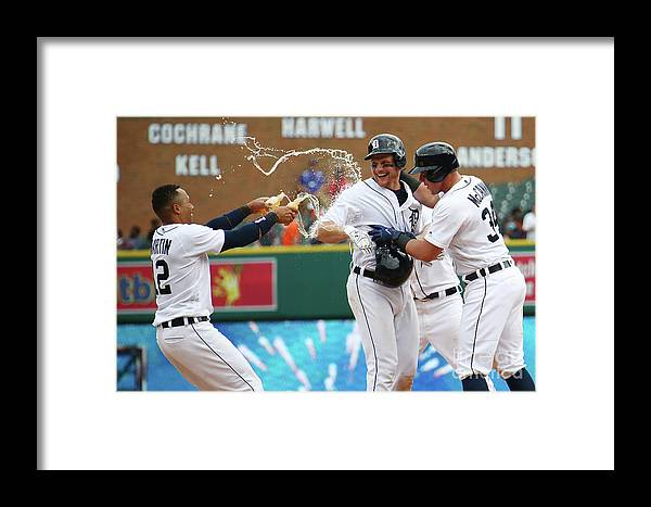 Three Quarter Length Framed Print featuring the photograph James Mccann And John Hicks by Gregory Shamus