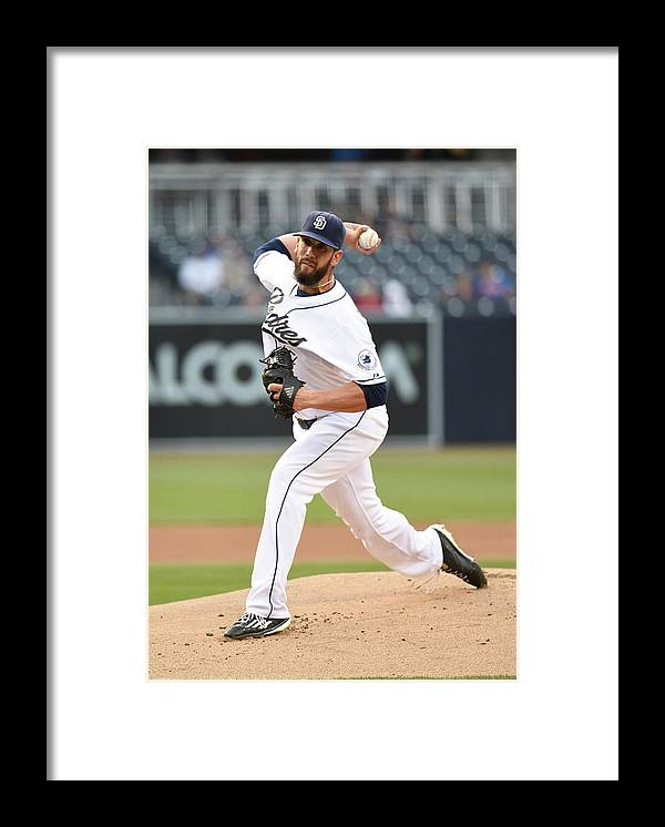People Framed Print featuring the photograph James Shields by Denis Poroy
