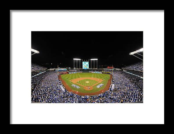Playoffs Framed Print featuring the photograph James Shields by Mlb Photos