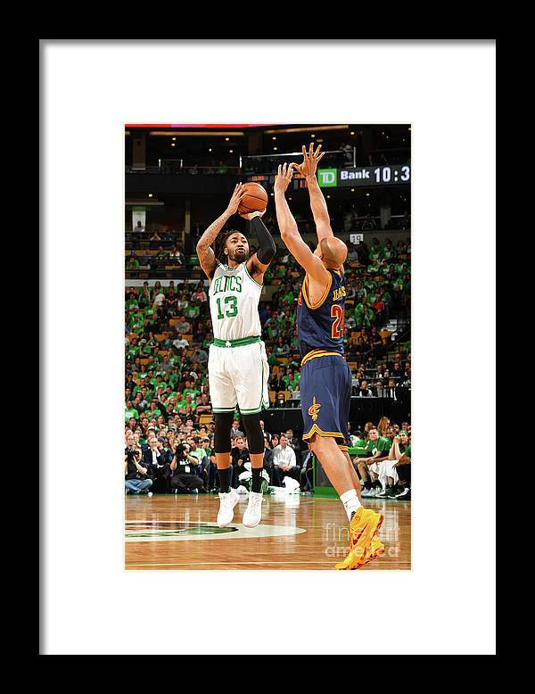 Playoffs Framed Print featuring the photograph James Young by Jesse D. Garrabrant