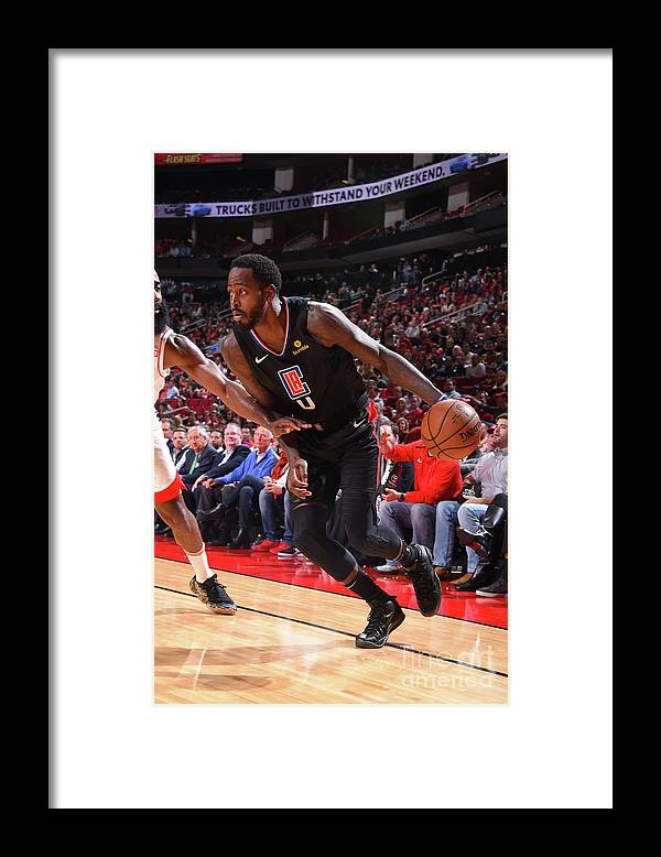 Nba Pro Basketball Framed Print featuring the photograph Jamychal Green by Bill Baptist