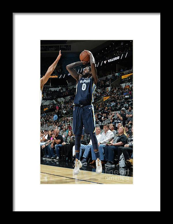 Nba Pro Basketball Framed Print featuring the photograph Jamychal Green by Mark Sobhani