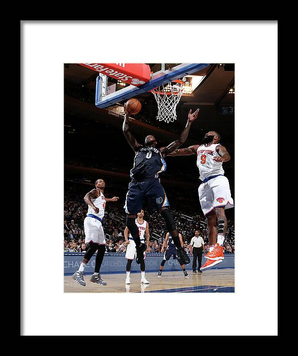 Nba Pro Basketball Framed Print featuring the photograph Jamychal Green by Nathaniel S. Butler