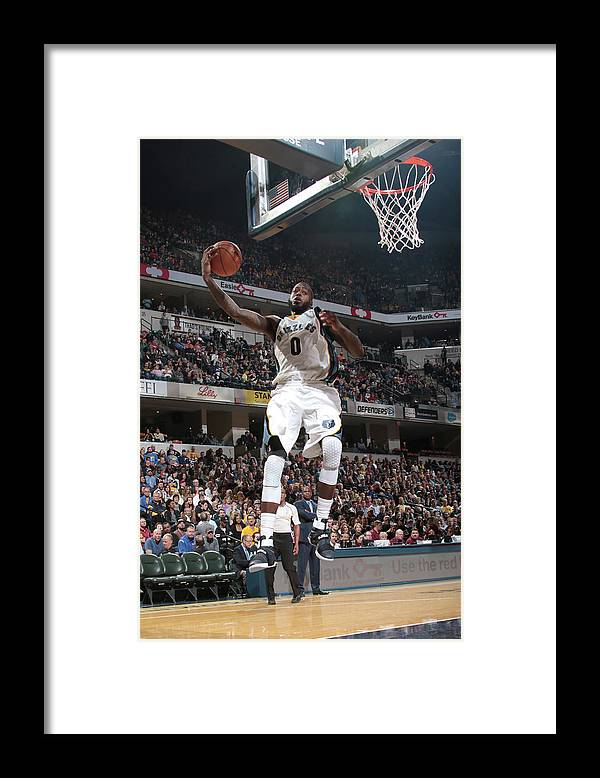 Nba Pro Basketball Framed Print featuring the photograph Jamychal Green by Ron Hoskins
