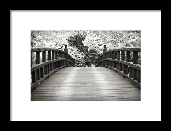 3scape Framed Print featuring the photograph Japanese Dream Infrared by Adam Romanowicz