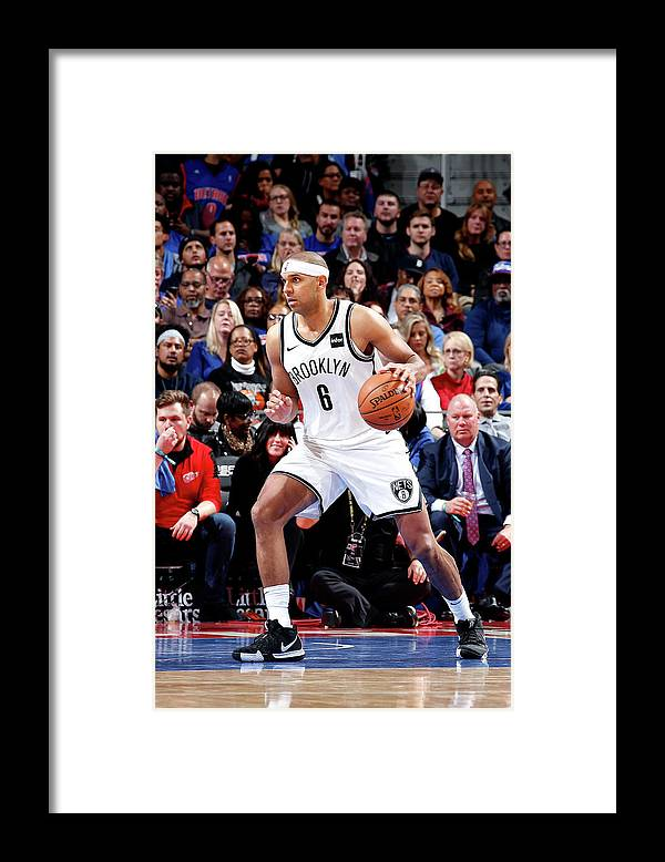 Nba Pro Basketball Framed Print featuring the photograph Jared Dudley by Brian Sevald