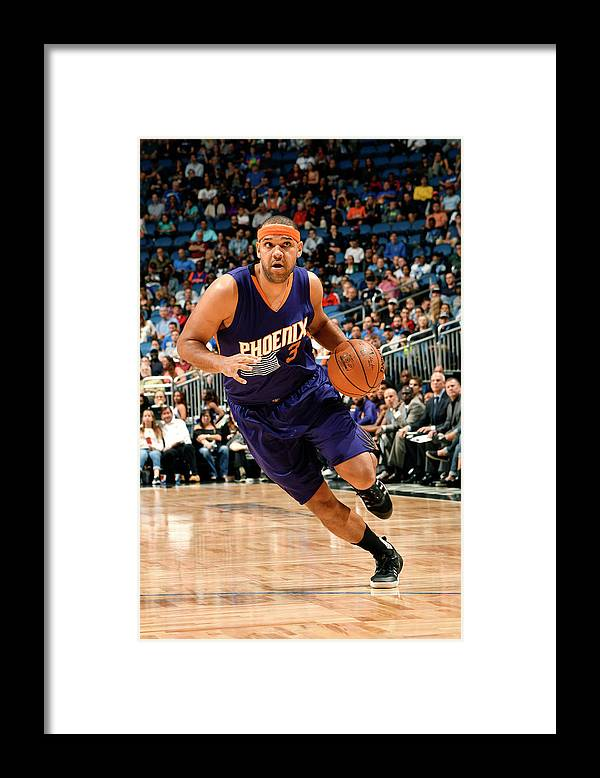 Nba Pro Basketball Framed Print featuring the photograph Jared Dudley by Fernando Medina