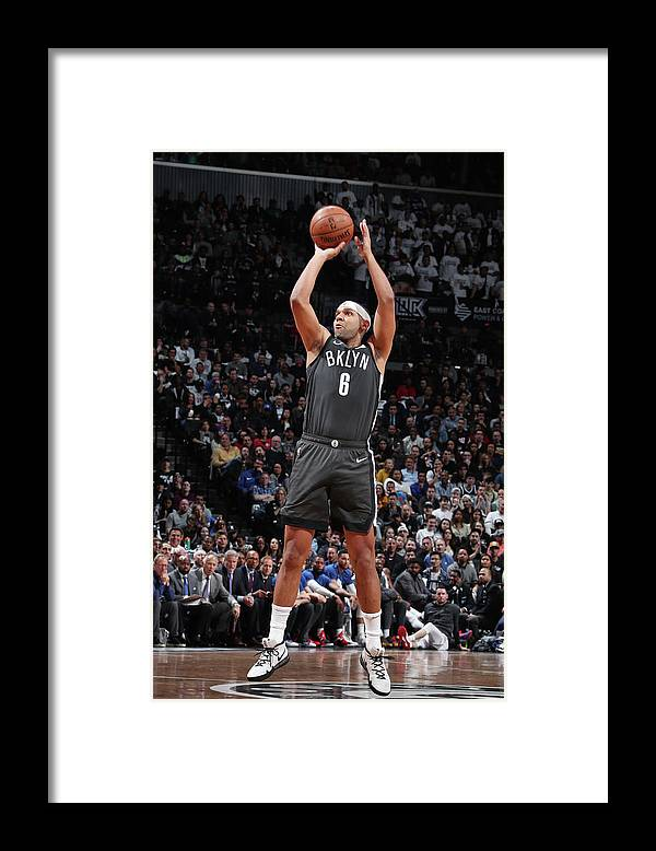 Playoffs Framed Print featuring the photograph Jared Dudley by Nathaniel S. Butler