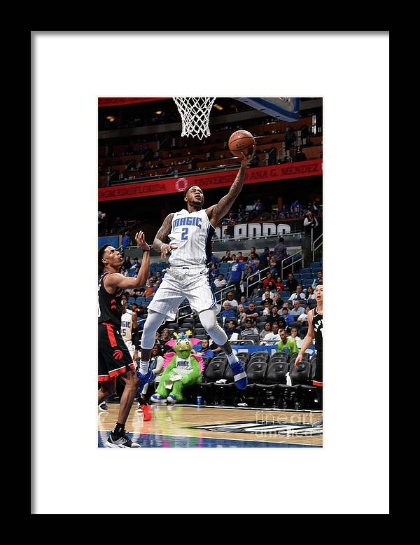 Playoffs Framed Print featuring the photograph Jarell Martin by Gary Bassing