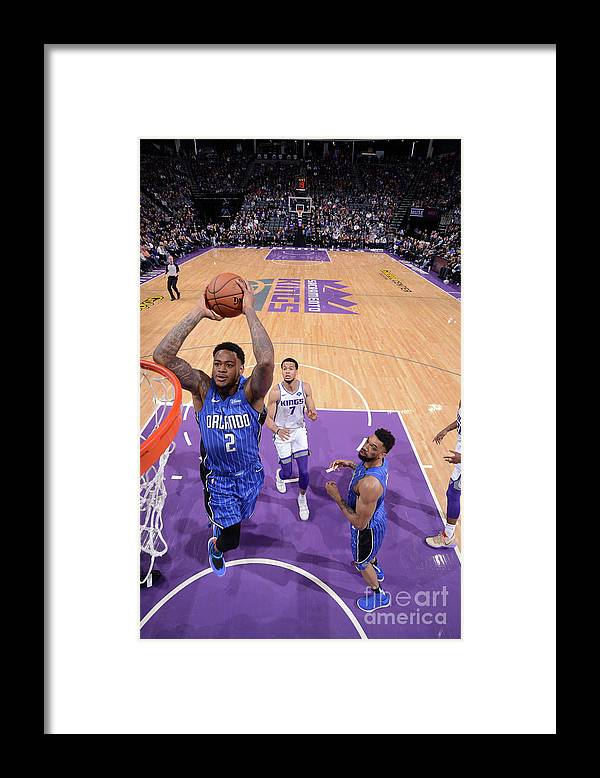 Nba Pro Basketball Framed Print featuring the photograph Jarell Martin by Rocky Widner