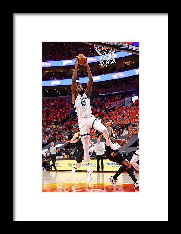 Playoffs Framed Print featuring the photograph Jaren Jackson by Jeff Swinger