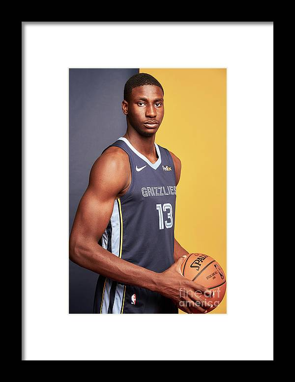 Nba Pro Basketball Framed Print featuring the photograph Jaren Jackson by Jennifer Pottheiser