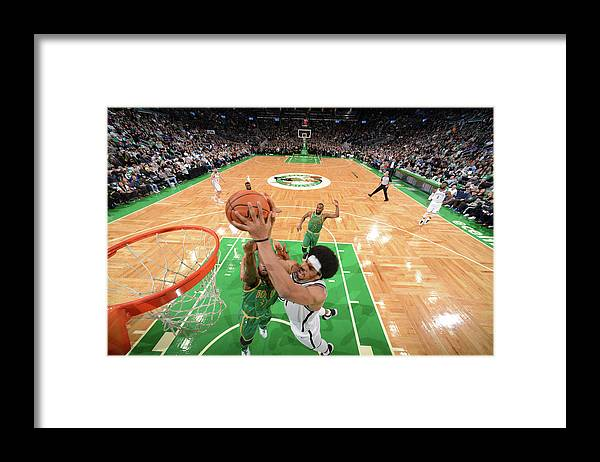Nba Pro Basketball Framed Print featuring the photograph Jarrett Allen by Brian Babineau