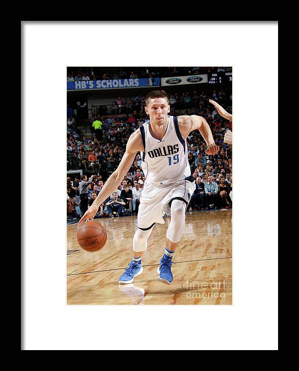 Nba Pro Basketball Framed Print featuring the photograph Jarrod Uthoff by Glenn James