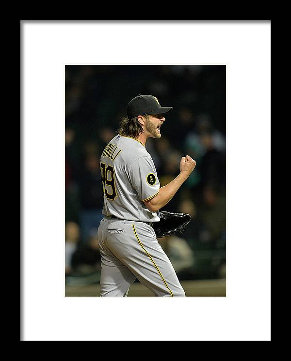 Fist Framed Print featuring the photograph Jason Grilli by Brian Kersey