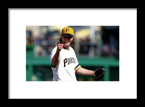 Ninth Inning Framed Print featuring the photograph Jason Grilli by Justin K. Aller