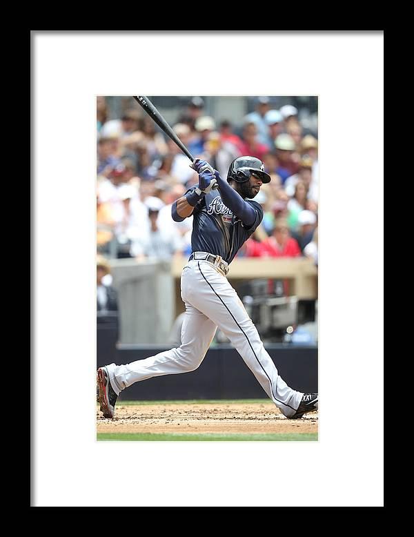 California Framed Print featuring the photograph Jason Heyward by Rob Leiter