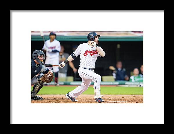 People Framed Print featuring the photograph Jason Kipnis by Jason Miller