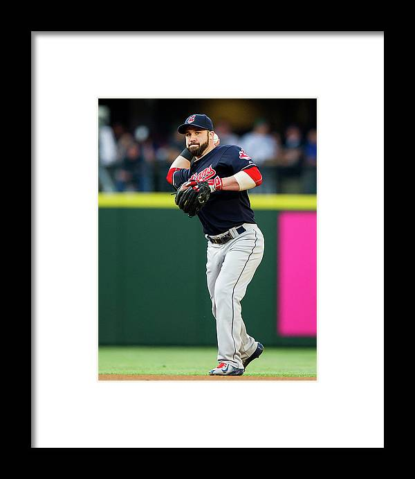 People Framed Print featuring the photograph Jason Kipnis by Rich Lam