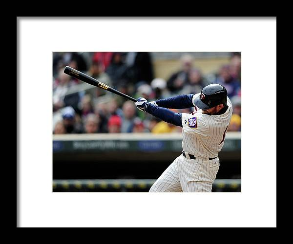 American League Baseball Framed Print featuring the photograph Jason Kubel by Hannah Foslien