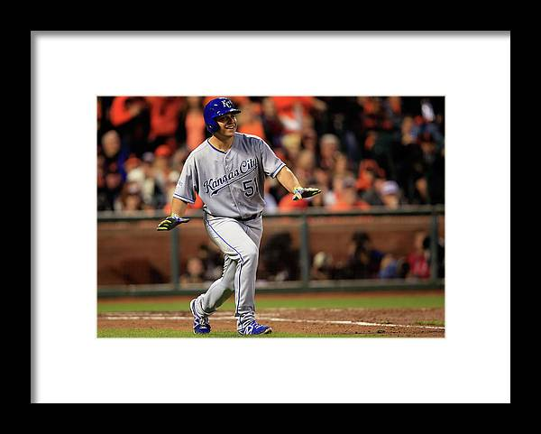 San Francisco Framed Print featuring the photograph Jason Vargas by Jamie Squire