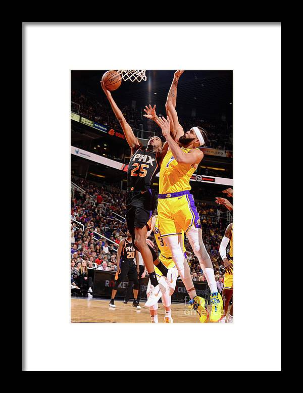 Nba Pro Basketball Framed Print featuring the photograph Javale Mcgee by Barry Gossage