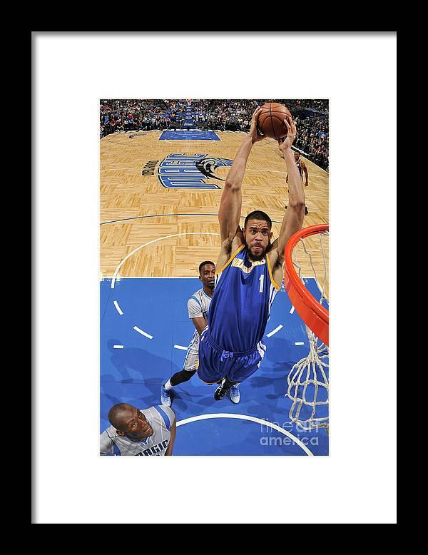 Nba Pro Basketball Framed Print featuring the photograph Javale Mcgee by Fernando Medina